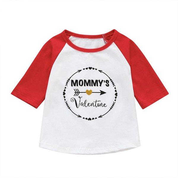 Children Boys Girls Summer Cotton Letter Pattern T-shirt Tops Blouse Half Sleeve Casual Tee Shirts 6M-5T Toddler Boy Clothes