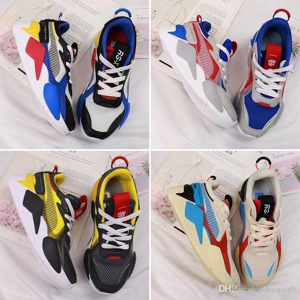 2019 Brand Big Kids RS-X Toys Release Trainers for Kid Sneakers Children Sports Shoes Child Sport Shoe Youth Sneaker Teenage Chaussur