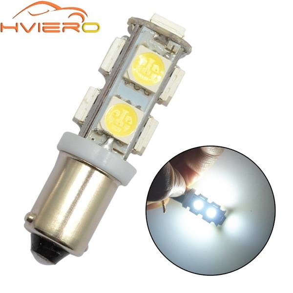 T11 Ba9s T4w 5050 9 Smd White Car Led Marker Lamps Auto Led Trunk Light Festoon Dome Door Bulb Dashboard Lamp Gauge light Dc 12v