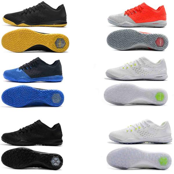 Original New High Ankle Top Football Boots TF Indoor Hypervenom Phantom III DF ACC Soccer Cleats HypervenomX Proximo Soccer Shoes KPU