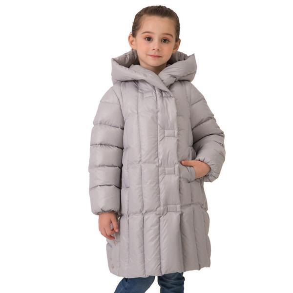2018 Winter Girls  Faux Fur Black Pink Beige Hood Parka Jacket Coat Age 1-8