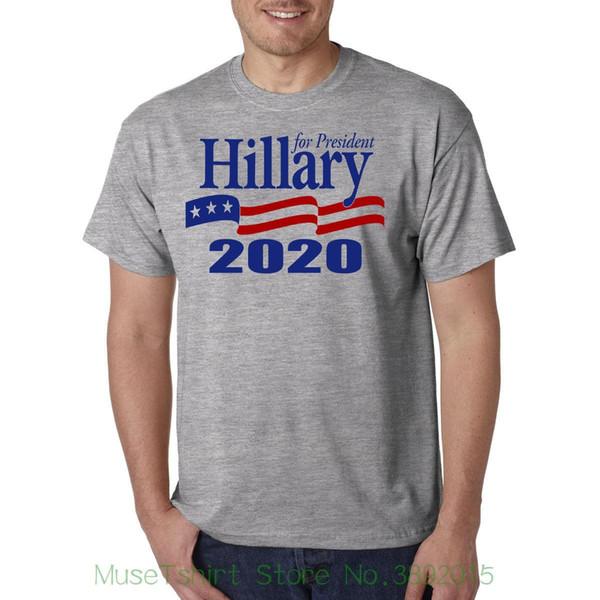 Hillary Clinton pour le président 2020 T-shirt - Donald Trump Dump Rematch! Impression de logo de mode démocrate t-shirts