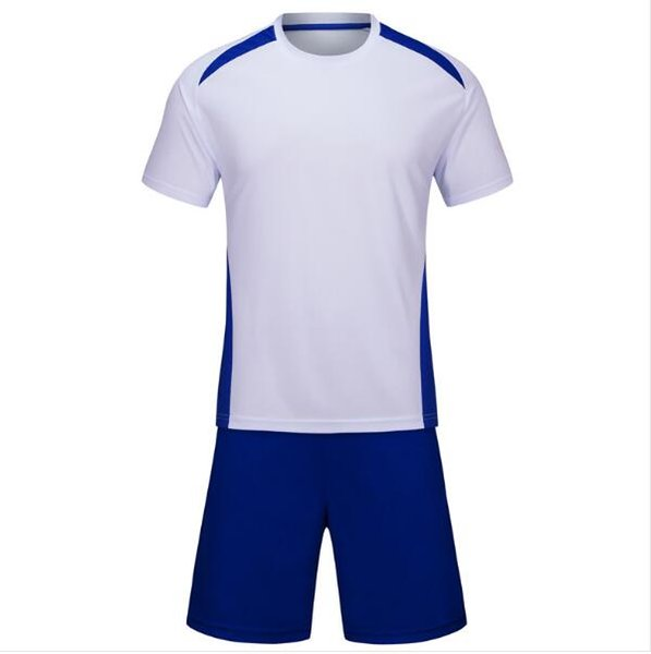 Summer best-selling sports T-shirt clothes white pants blue 19-20 fashion sweatshirt short-sleeved