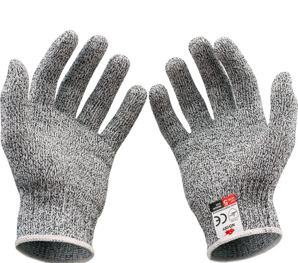 High Performance Cut Resistant Gloves Food Grade Level 5 Protection Sharp  Shield Gloves Kitchen Tools Good Quality Kitchen Gadgets Kids Kitchen