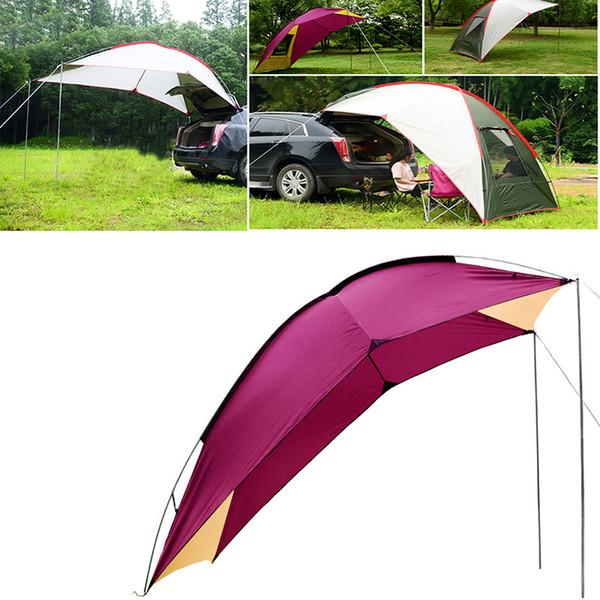 Outdoor tragbare Camping SUV Auto Heck Zelt selbstfahrende Regen Schatten Zelt