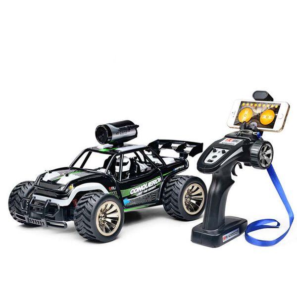1:16 escala 2.4G Carro de Controle Remoto de Alta Velocidade RC BG1516 WIFI FPV carro de corrida com câmera de buggy off carga