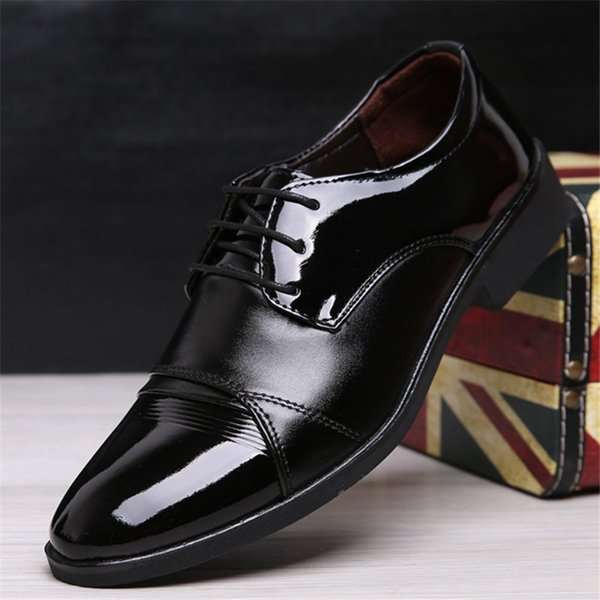 Men Dress Shoes Vintage Brogue Oxford Shoes Fashion PU Leather Double Monk Buckle Strap Wedding Formal Business new