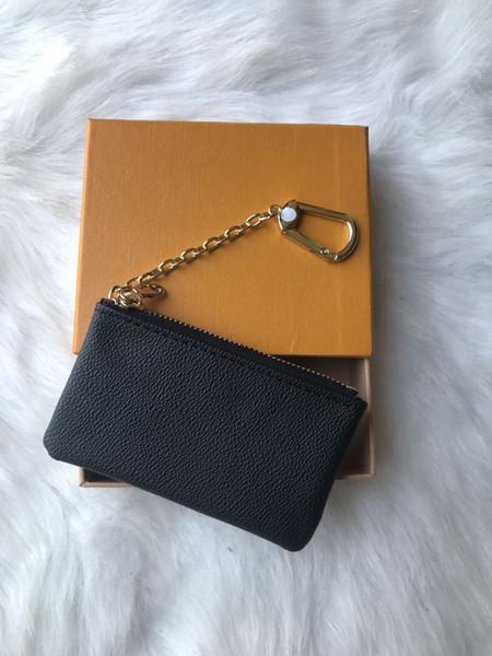 KEY SACHET toile Damier détient porte-clés de haute qualité femmes célèbres designer classiques Porte-monnaie petit sac de produits en cuir avec boîte 88868