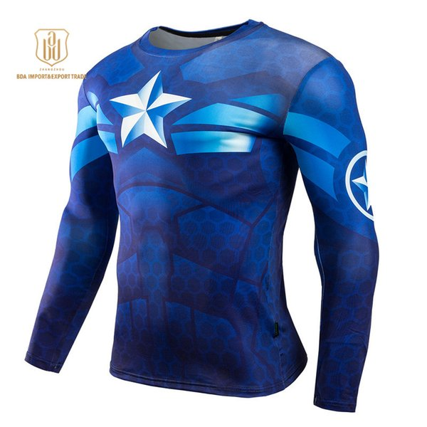 Outdoor Sportswear High Elastic New Round Collar Quick Dry Breathable Clothes Men Sports Fitness Gym Running Activewear T-shirts