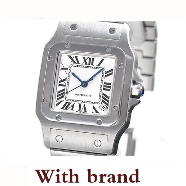 Designer fashion brand mans watch 39mm silver classic retro sandoz series men's watches fully automatic mechanical 316 Stainless steel