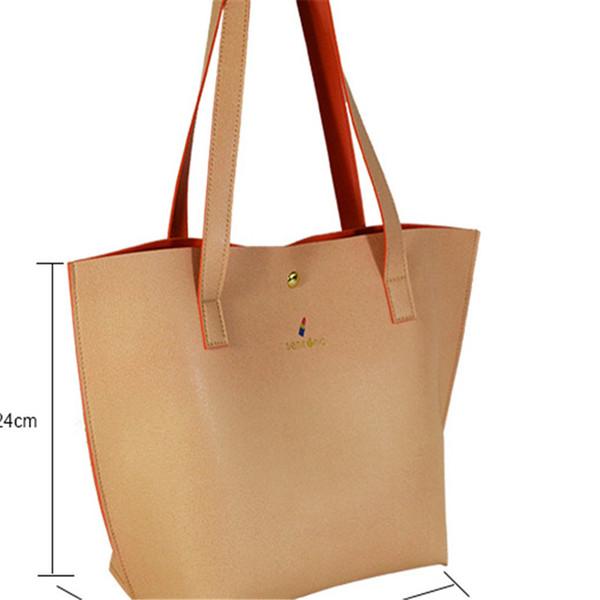 Soft Cross PU Trend New Women's Bag Handbag Customized Goods Customized Full-leather Soft-leather Impression Metal Bag
