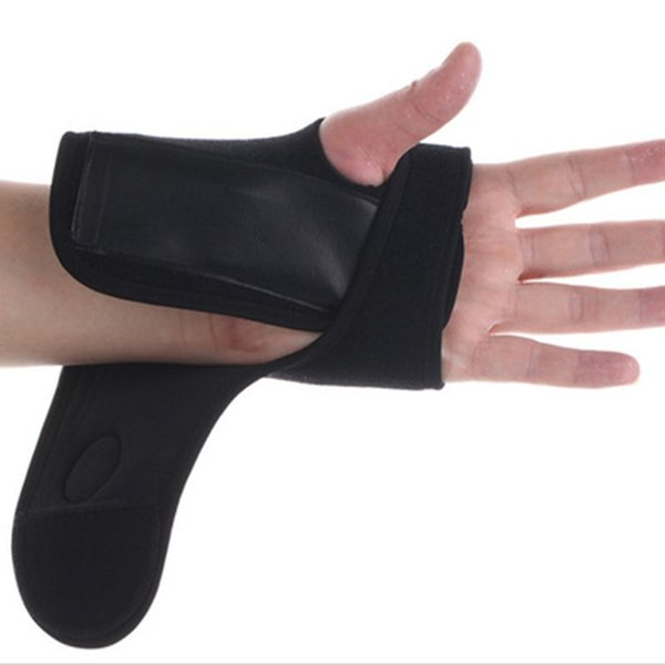 Gumay Elastic Black Thumb Wrap Wrist Palm Support Sport Gloves Bandage Brace Gym Hand Wrap Band For Fitness Weightlifting Tennis #242040