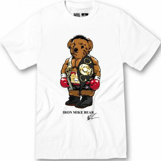 Polo Iron Mike TYyson Bear Shirt Rap tees T Shirt S-3XL discout hot new top free shipping t-shirt