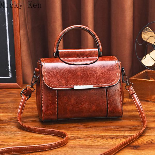 Bolsa Mujer Borse per le donne 2019 Lusso Donne Borse del modello del coccodrillo spalla dell'unità di elaborazione Leather Messenger Bag sac à design principale