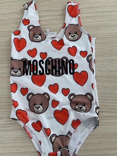 maillot de bain ours mignon pour enfants nagent vêtements pour fille
