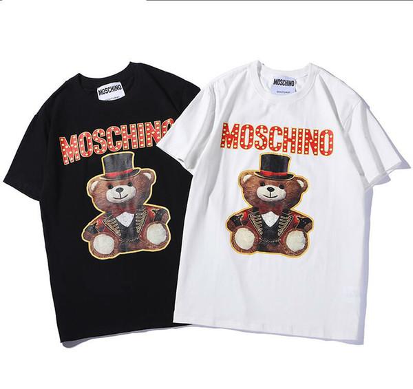 I FEEL LIKE Pablo Summer designer Lovers t shirts Harajuku streetwear new product Classical Alphabet Bear Digital Printing t-shirt fashion