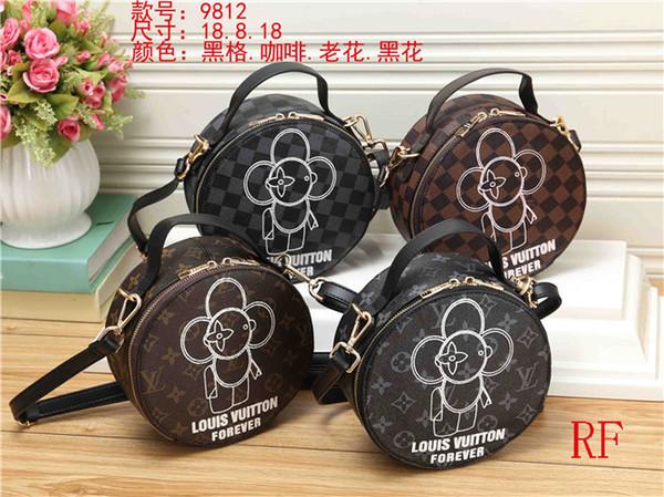 2019 styles Handbag Famous Name Fashion Leather Handbags Women Tote Shoulder Bags Lady Leather Handbags Bags purse #9812
