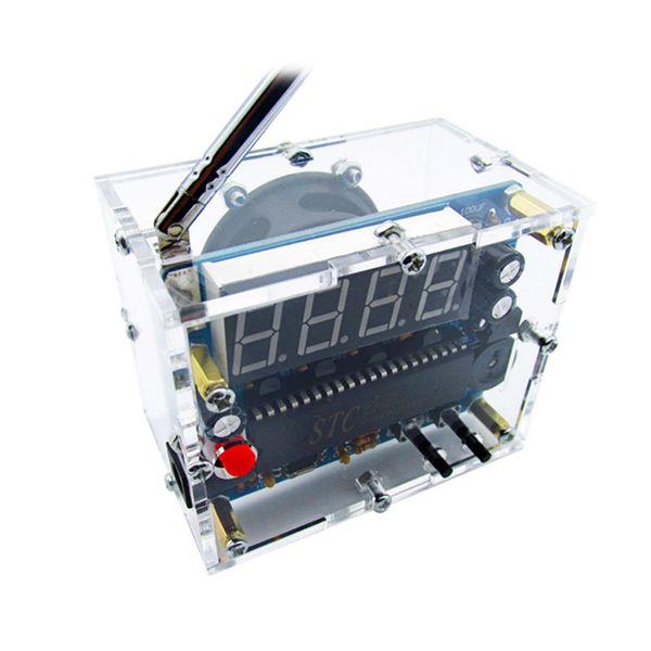 5767 Mini FM estéreo módulo de rádio com antena e Kit Horn 87-108Mhz Speaker Eletrônica
