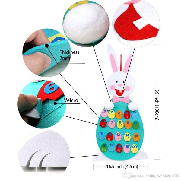 2019 Match Easter Numbers Toddler Toys, Wall Hanging Number Recognition  Game Learning Toy For Easter Decorations From China_wholesale17, $8 62 |