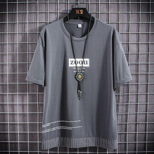 Darkgrey camiseta de los hombres