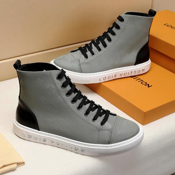 Großhandel Mode Herren Schuhe Stiefel Stiefeletten Mit Original Box Herren Schuhe M51 Herren Stiefel Knöchelhoch Top Stil Luxemburg Sneaker Von