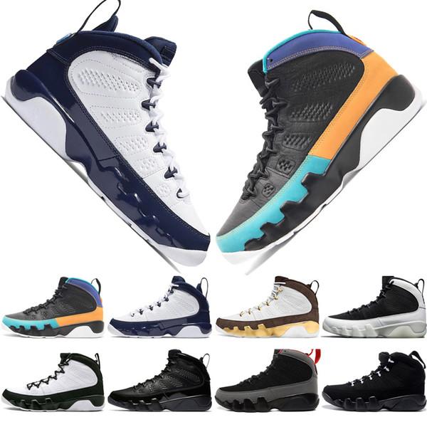 9 9s Dream It Do It UNC Mop Melo Mens Basketball Shoes LA OG Space Jam men Bred The Spirit Anthracite sporst sneakers designer trainers 7-13