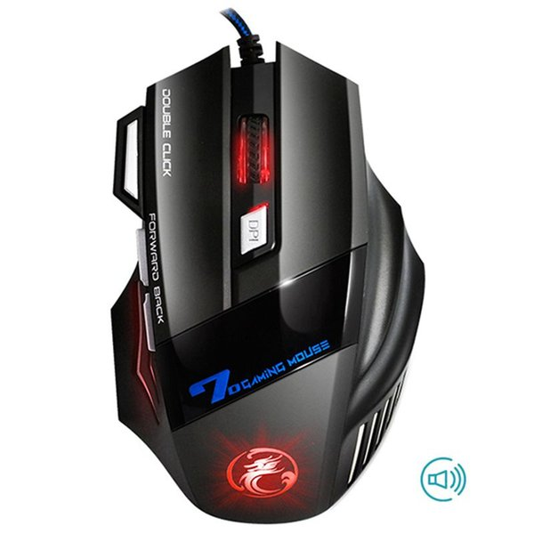iMice X7 Professional Wired Gaming Mouse 7 Button 2400 DPI LED Optical USB Computer Mouse Gamer Mice