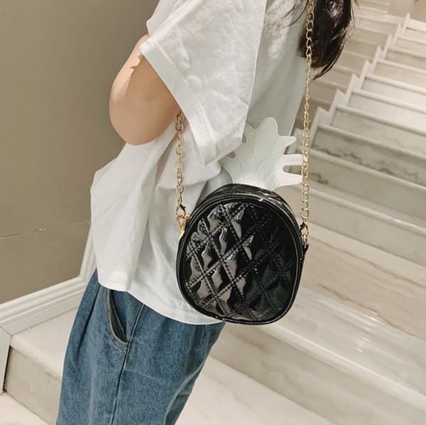 Crossbody Bags For Women Pineapple Bags 2019 Fashion Female Chain Shoulder Bag Pack Handbag Lingge Tote Ladies Messenger Bag