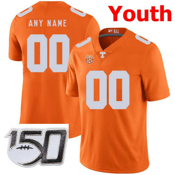 Youth Orange With 150th Patch