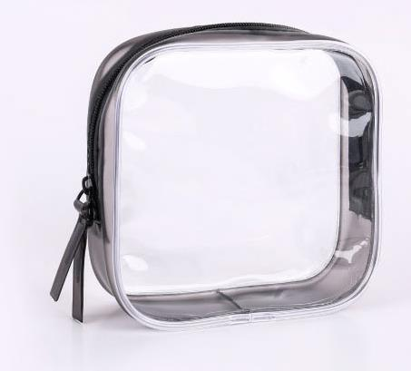 Vogue of new fund of 2018 strong vc three-dimensional transparent plastic bag zipper bag Spot commodities waterproof receive bag