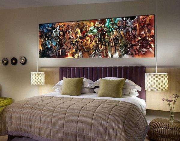 Acheter Comics Imprimer Hd Spiderman Superman Iron Man Rassomaha X Men Capitaine Amer Home Decor Peinture Murale Art Sur Toile Multi Tailles Options