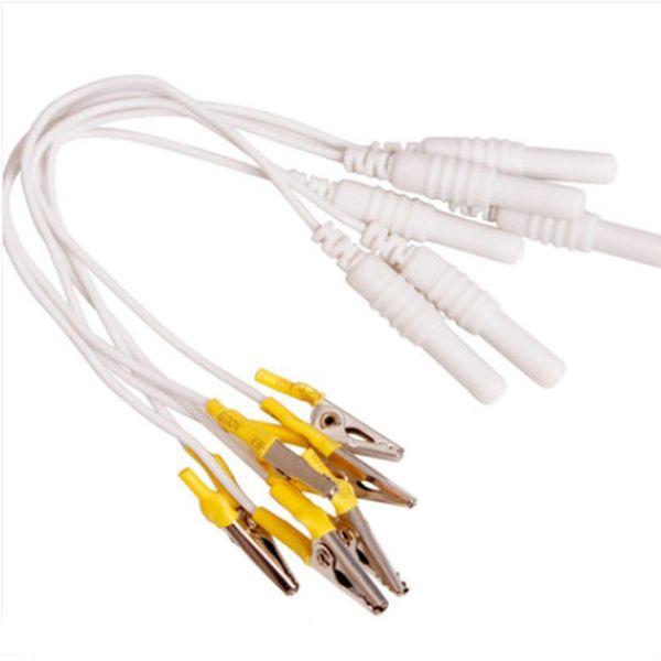 Novo fio de Cabo de Clip de Jacaré eletrônico, Clipe de Agulhas de Acupuntura para Hwato SDZ-II Eletrônico Acupuntura Tratamento Instrumento
