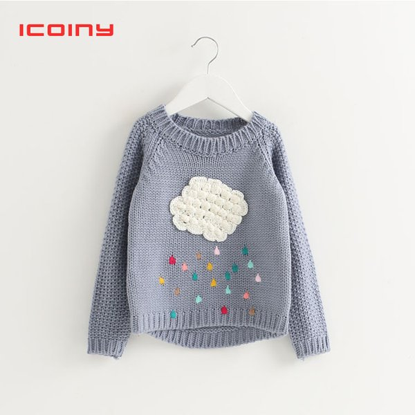 Infant Baby Sweaters Girls Children Kids Knitted Winter Autumn Pullovers O  Neck Warm Outerwear Toddler Sweaters 2 3 4 5 6 Years Knitting Patterns For