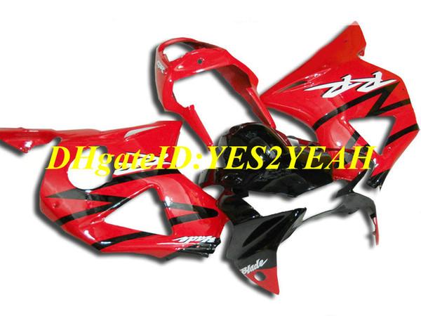 Kit de carenado de motocicleta personalizado para Honda CBR900RR 954 02 03 CBR 900RR CBR900 2002 2003 ABS Hot rojo negro carenados conjunto + regalos HC29