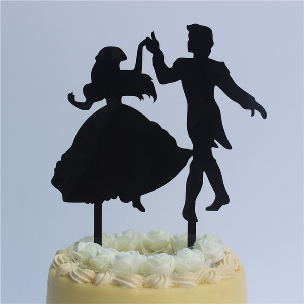 2019 Romantic Wedding Anniversary Cake Toppers Dancing Bride And Groom For Ruby Wedding Party Supplies From Kaishihui 16 11 Dhgate Com
