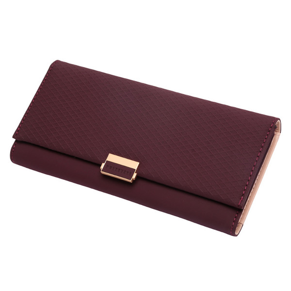 Luxury Wallet Female Cute PU Leather Women Purse For Girls Plaid Wallet Ladies Hot Change Coin Card Holder Small Purses Carteira