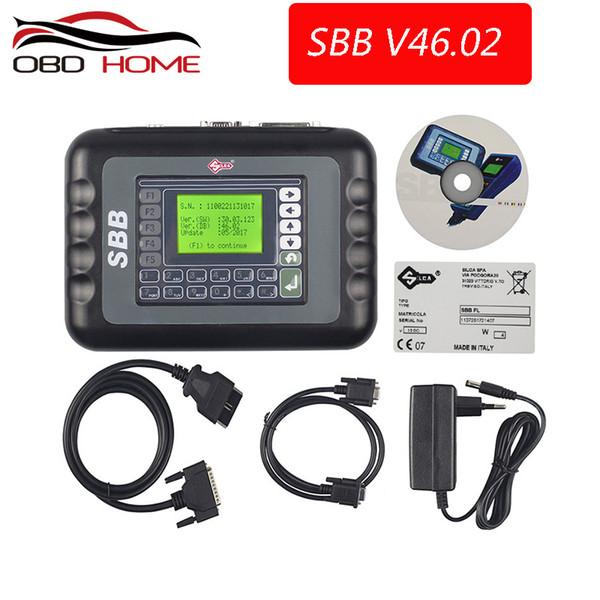 OBD2 Slica SBB V46.02 Better Than SBB PRO2 Key Programmer V33.02 Programming New Key In Immobilizer Copy Transponder Chip V33.01