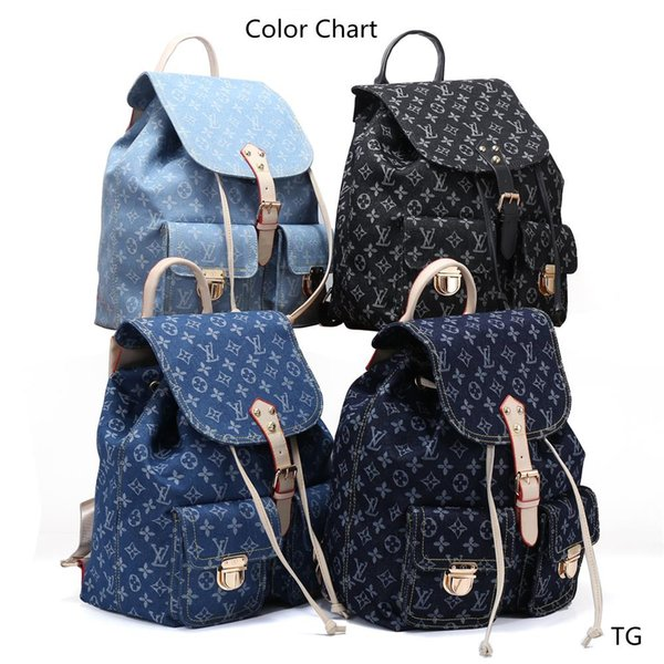 best selling High quality New brand Handbag Fashion Women Tote Shoulder Bags Lady Leather Handbags backpack purse Wallet TG #7709#