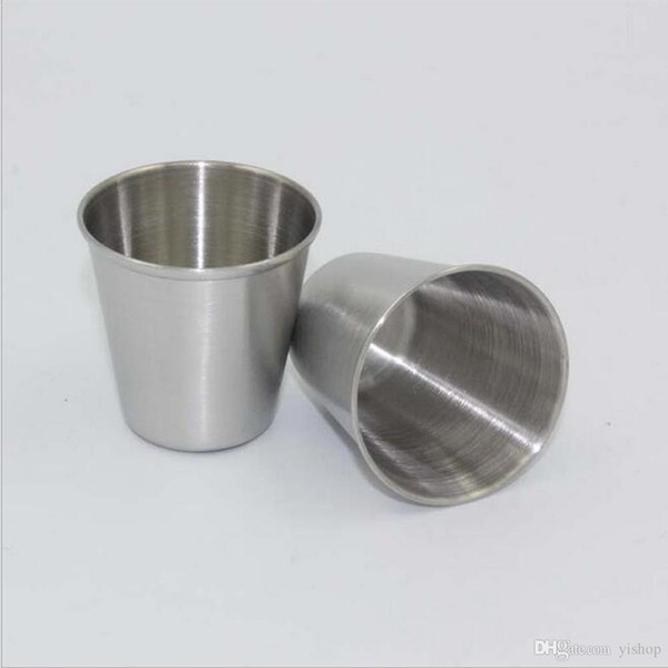 30ML 1OZ Stainless Steel Tumbler Shot Glasses Cups Drinking Glass Wine Beer Whiskey Mug Portable Travel Cup