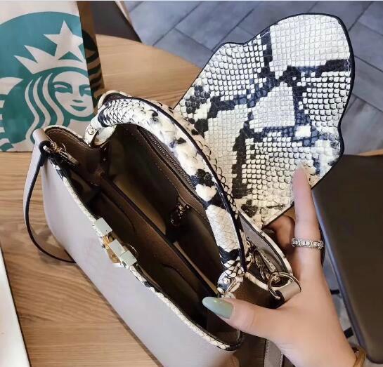 CAPUCINES Top-Griff Capucines Taschen Frauen Lederhandtaschen berühmten V Taschen Designer-Handtaschen hochwertige Schulter Crossbody-Tasche
