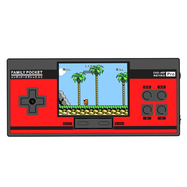 2019 Novo Console de Jogo de Bolso Família Coolbaby RS-88 Portátil Retro Mini Handheld Game Player Pode Armazenar 348 Jogos Clássicos de 3,0 Polegada LCD a Cores