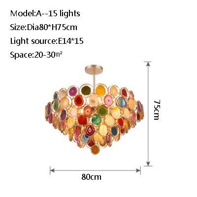 A 15 lights