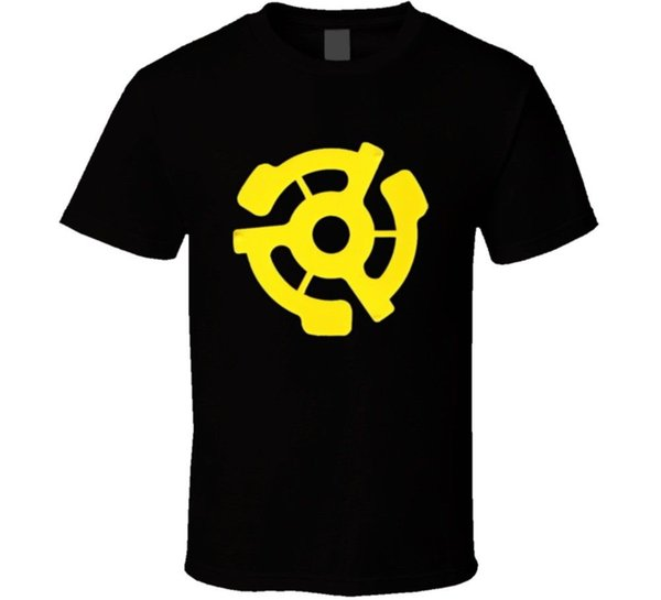 T-shirt vintage Fan inserto in vinile Divertente spedizione gratuita Unisex Casual