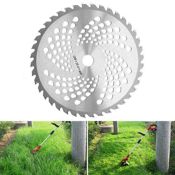 40T Grass Trimmer lame taglieranno tagliente della lama lama erba decespugliatore Dust Removal vassoio Piastra per tosaerba