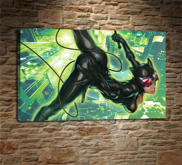 Dc Comics, 1 Piezas Decoración para el hogar Pintura de arte moderno impresa HD en lienzo (sin marco / enmarcada)