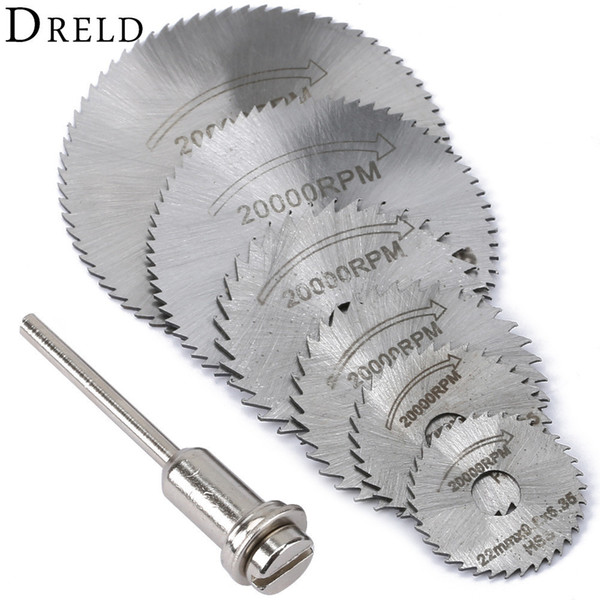 Wholesale circular saws for sale - Group buy Blades DREL HSS Rotary Tools Circular Saw Blades Cutting Discs Mandrel Cutoff Mini Saw Blade Wood Drills Tools Dremel Accessories