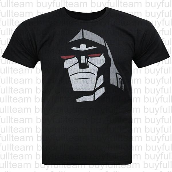 T All Trades Sleeves Size S Mens Black Transformers Xl 2xl Of M Head Shirt L 3xl Jack Short Shirts Megatron Yf7yvmI6gb