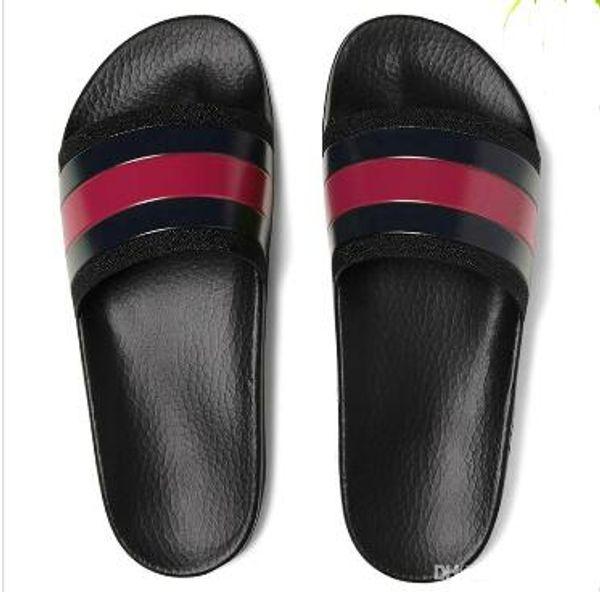 NEUE Mode männer frauen gestreiften sandalen kausal rutschfeste sommer huaraches hausschuhe flip flops hausschuhe BESTE QUALITÄT