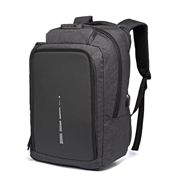 Waterproof Large Capacity 15.6 Inch Laptop Bag Man Usb Design Backpack Bag Black Backpack Women School Bags Mochila Masculina