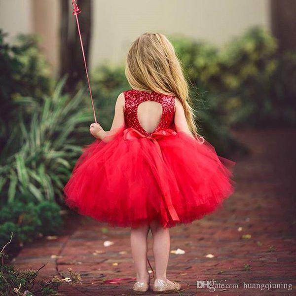 Baby Girl Princess Dress Wedding Sequins Formal Events Party Wear Little Girl Birthday Dress Tutu Kids Clothes Infantil Vestidos